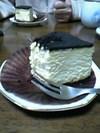 これが 一切れ420円のチーズケーキだ